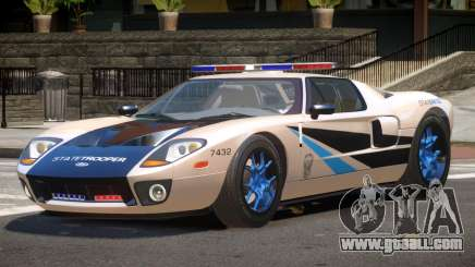 Ford GT1000 Police V1.3 for GTA 4