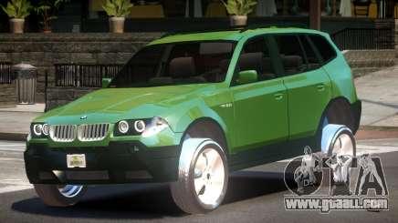 BMW X3 V1.0 for GTA 4
