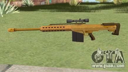 Heavy Sniper GTA V (Gold) V3 for GTA San Andreas