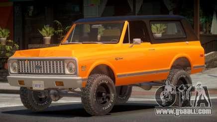 Chevrolet Blazer Off-Road for GTA 4