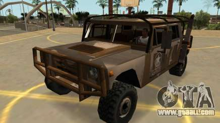 Mammoth Patriot Military With Badges & Extras for GTA San Andreas