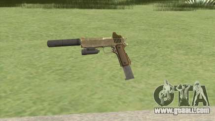 Heavy Pistol GTA V (Army) Full Attachments for GTA San Andreas
