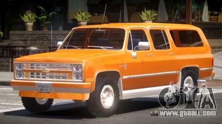 Chevrolet Suburban Old for GTA 4