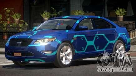 Ford Taurus Spec A PJ2 for GTA 4