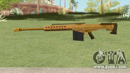Heavy Sniper GTA V (Gold) V2 for GTA San Andreas