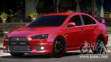 Mitsubishi Evolution X V1.1 for GTA 4