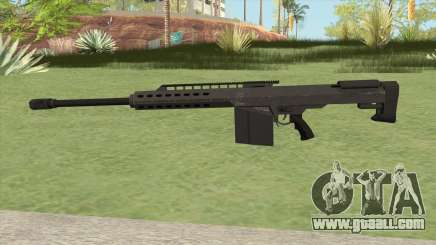 Heavy Sniper GTA V (Black) V2 for GTA San Andreas