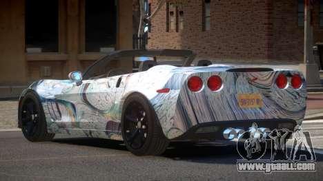 Chevrolet Corvette SR PJ7 for GTA 4