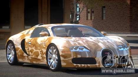 Bugatti Veyron DTI PJ5 for GTA 4