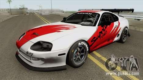 Toyota Supra (Kanjo) for GTA San Andreas