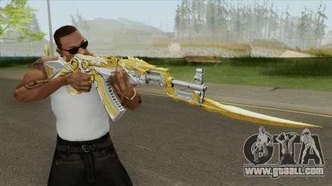 AK-47 (Knife Iron Beast) for GTA San Andreas