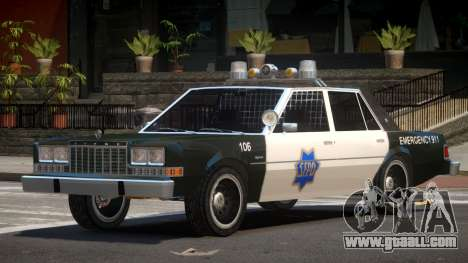 Dodge Diplomat Police V1.5 for GTA 4