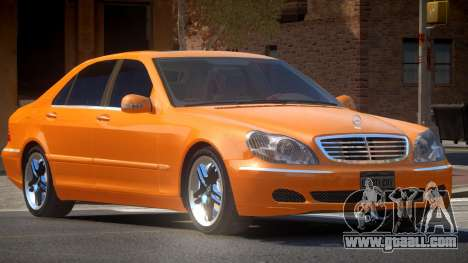 Mercedes-Benz S600 SE for GTA 4