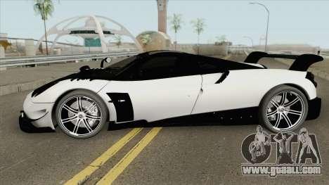 Pagani Huayra BC (RHA) for GTA San Andreas