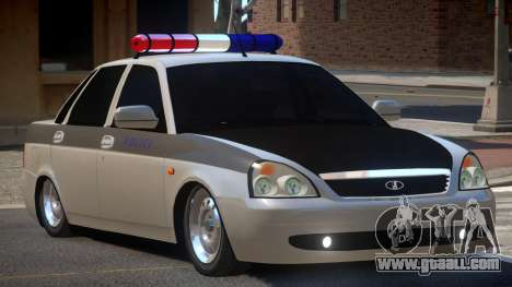 Lada Priora Police V1.1 for GTA 4