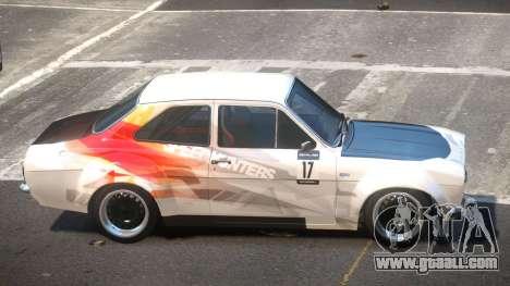 Ford Escort GT PJ2 for GTA 4