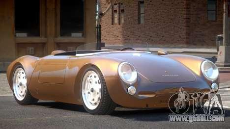 Porsche 550 Old for GTA 4