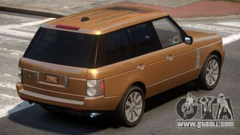 Range Rover Supercharged LS for GTA 4