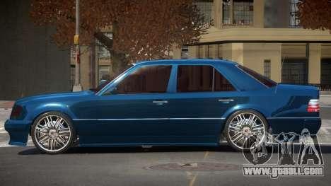Mercedes Benz E500 VIP for GTA 4