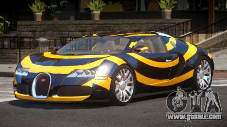 Bugatti Veyron DTI PJ3 for GTA 4