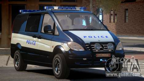 Mercedes Benz Vito Police for GTA 4