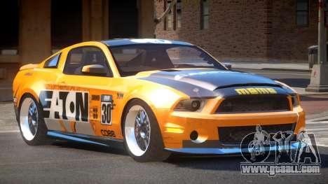 Shelby GT500 SR PJ1 for GTA 4