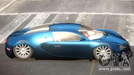 Bugatti Veyron 16.4 SR for GTA 4
