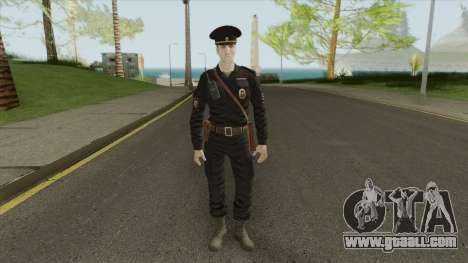 Patrol Police Officer (Russia) for GTA San Andreas