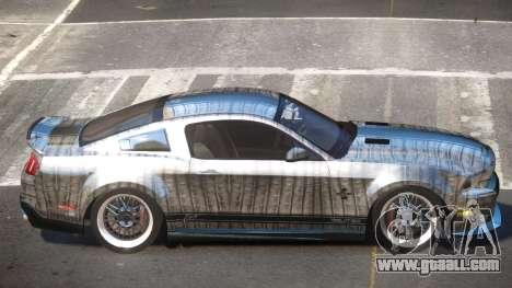Shelby GT500 SR PJ6 for GTA 4