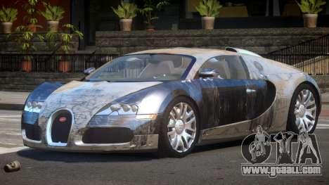 Bugatti Veyron DTI PJ4 for GTA 4
