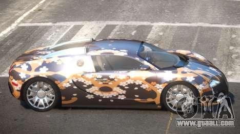 Bugatti Veyron DTI PJ2 for GTA 4