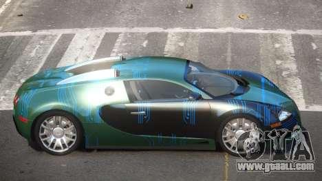 Bugatti Veyron DTI PJ1 for GTA 4