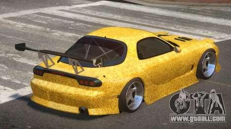 Mazda RX-7 RT Tuning PJ1 for GTA 4