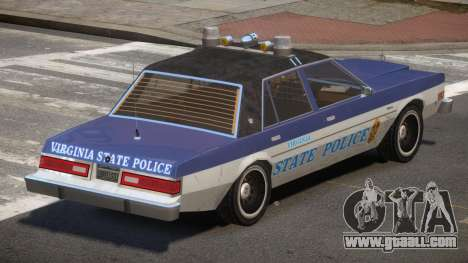Dodge Diplomat Police V1.3 for GTA 4