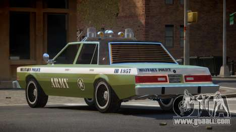 Dodge Diplomat Police V1.2 for GTA 4