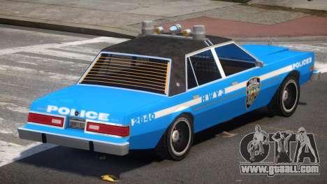 Dodge Diplomat Police V1.1 for GTA 4