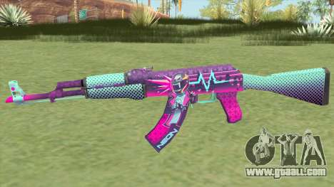 AK-47 Neon Rider (CS:GO) for GTA San Andreas