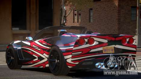 Chevrolet Corvette SR PJ5 for GTA 4