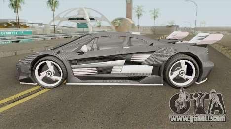 Pegassi Lampo K20 (Carbon) GTA V for GTA San Andreas