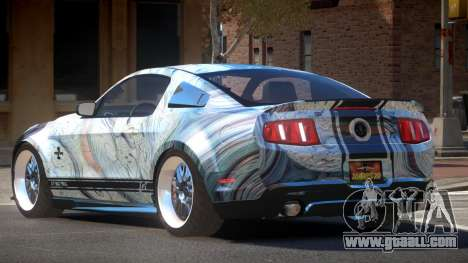 Shelby GT500 SR PJ2 for GTA 4