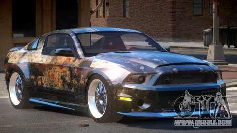 Shelby GT500 SR PJ4 for GTA 4