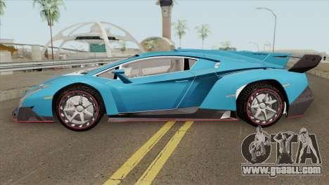 Lamborghini Veneno 2020 for GTA San Andreas