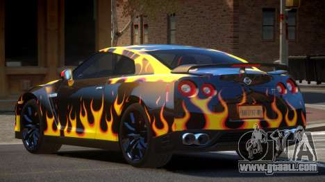 Nissan GT-R Qz PJ6 for GTA 4