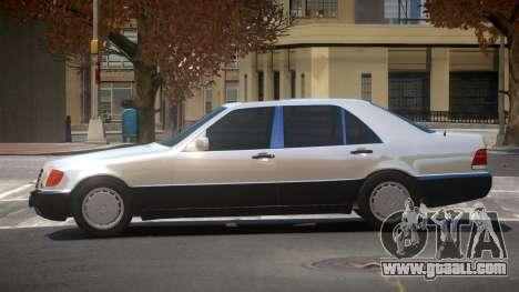 Mercedes Benz 600SEL SE for GTA 4