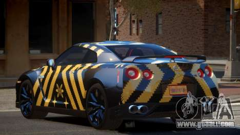 Nissan GT-R Qz PJ3 for GTA 4