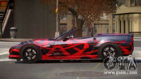 Chevrolet Corvette SR PJ8 for GTA 4