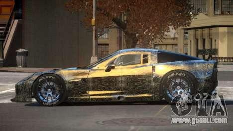 Chevrolet Corvette RS Tuning PJ4 for GTA 4