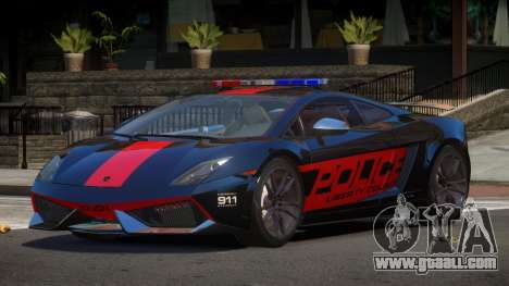 Lamborghini Gallardo SR Police for GTA 4