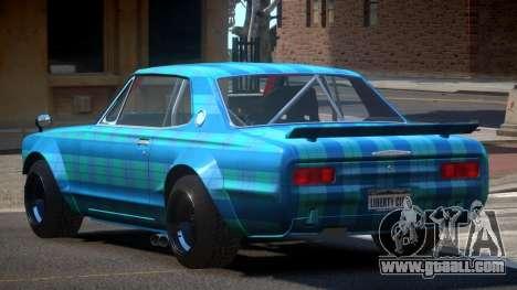 Nissan Skyline GT Qz PJ5 for GTA 4
