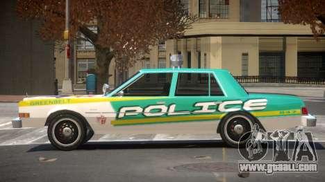 Dodge Diplomat Police V1.4 for GTA 4